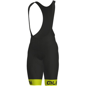 Alé Cycling Solid Frequenza Bibshorts Men fluo yellow-black
